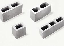 Bloco de concreto - substituto do tijolo comum